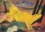Franz Marc. Die gelbe Kuh, 1911. KK