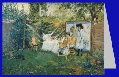 Merritt, William. Frühstück im Freien, 1888