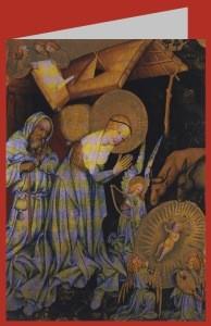 Anbetung des Kindes, um 1415. DK