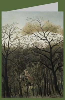 Henri Rousseau. Rendezvous im Wald, 1889