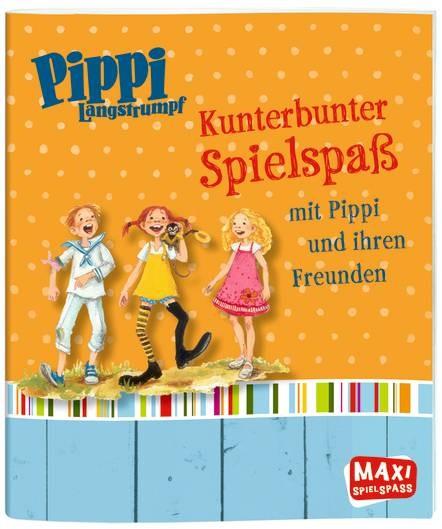 Pippi Langstrumpf. Kunterbunter Spielspaß mit Pippi/Freunden