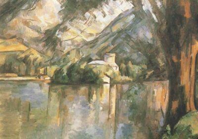 Cézanne, P. Der See von Annecy, 1896. KK