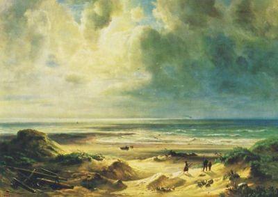 Christian Morgenstern. An den Dünen der Nordsee, KK