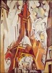 Robert Delaunay. Der Eifelturm, 1910/11. KK