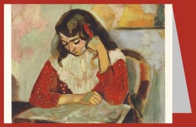 Henri Matisse. Marguerite, lesend, 1906