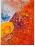 Marc Chagall. Der Künstler und seine Frau, 1969. DK