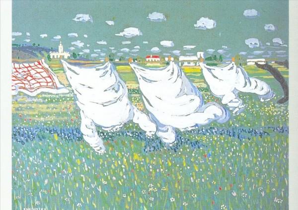 Wassily Kandinsky. Frühling, 1905. KK