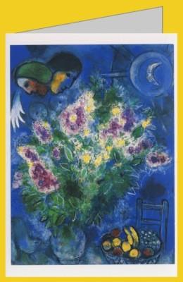 Marc Chagall. Die Levkojen. DK