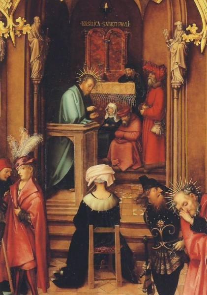 Holbein, H. Basilika San Paolo fuori le mura, 1504. KK
