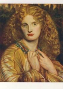 Rossetti, Dante Gabriel. Helena von Troja, 1863. KK