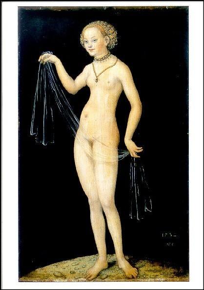 Cranach, Lucas d.Ä. Venus, 1532. KK
