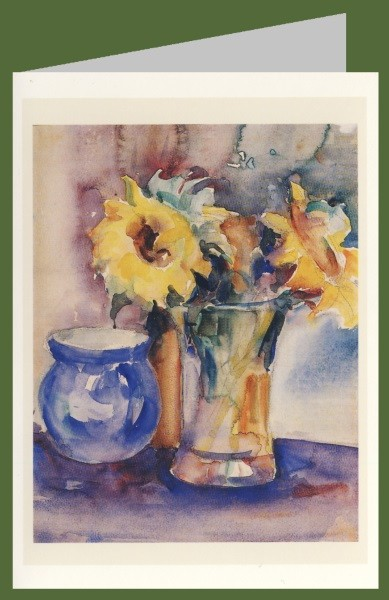 Hummel, M.I. Sonnenblumen im Glas, 1928/30