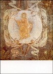 Byzantinisch. Christi Himmelfahrt. KK