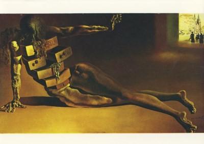 Salvador Dali. Der anthropomorphe Kabinettschrank, 1936