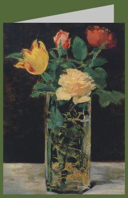 Edouard Manet. Rose und Tulpe, 1882. DK