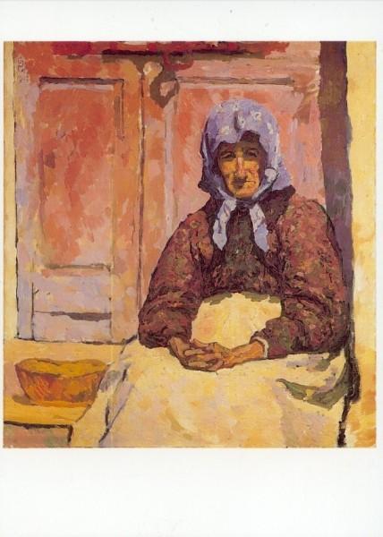 Giacometti, Giovanni. Die Alte, 1912. KK