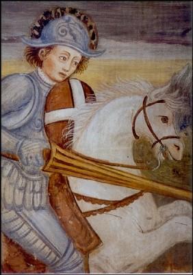 Sankt Georg, 17. Jh. KK