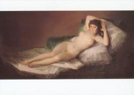 Goya, F. Die nackte Maja. KK