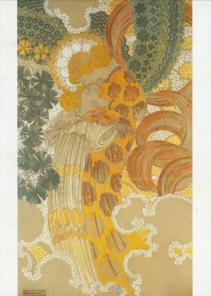 Giacometti, Augusto. Die Musik, 1899. KK