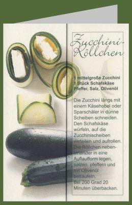 Breyer. Zucchini-Röllchen. DK
