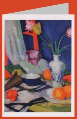 Peploe, Samuel-John. Stillleben mit Tulpen, 1925