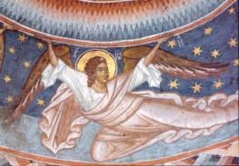 Byzantinisch. Erzengel Joel. Rumänisch. KK