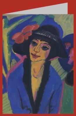 Ernst Ludwig Kirchner. Bildnis Gerda, 1914