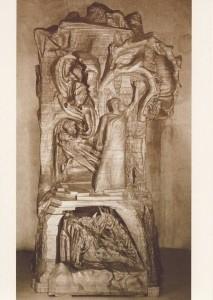 Rudolf Steiner. Menschheitsrepräsentant, Holzplastik