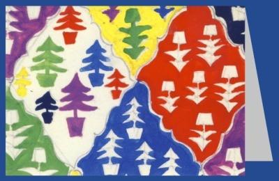 American School. Christmas tree design