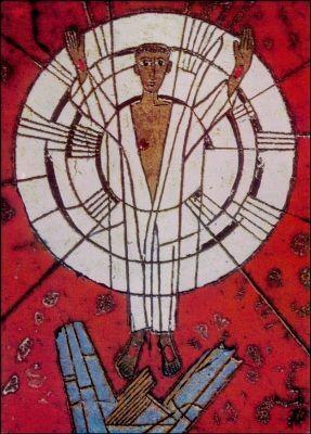 Crone, Franz. Auferstandene Christus, 1970. KK