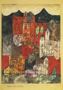 Klee, P. Stadt der Kirchen, 1918
